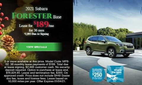 2021 Subaru Forester Base