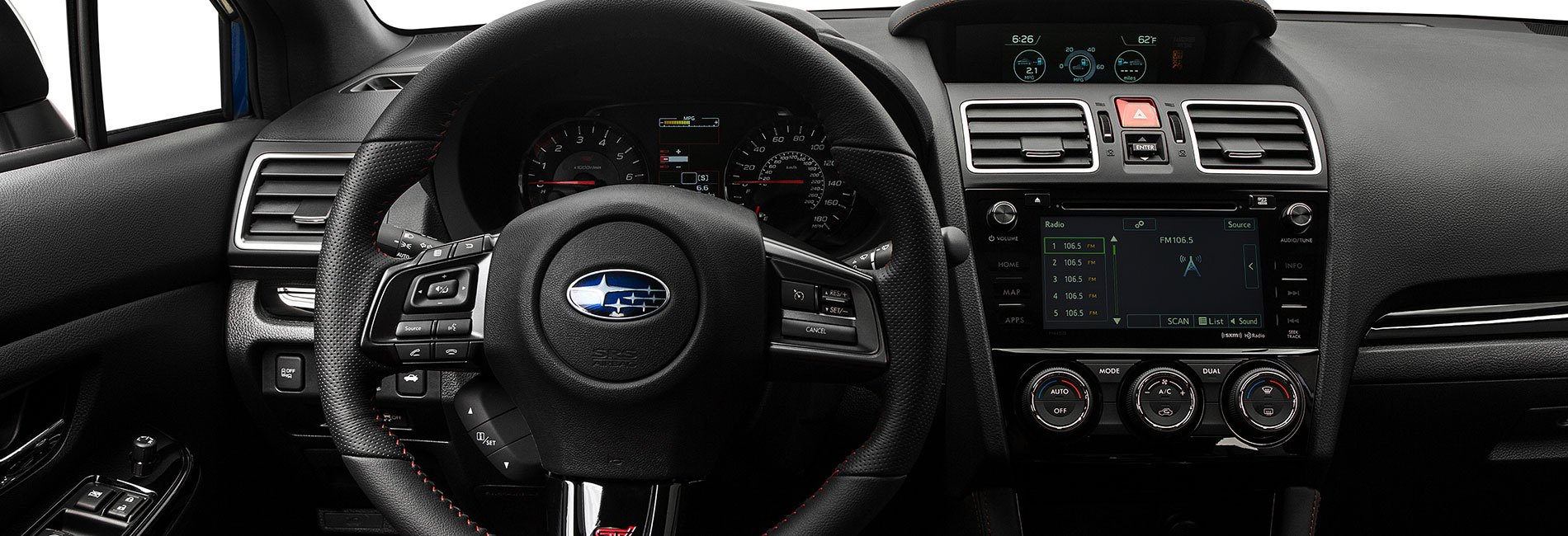 2018 Subaru WRX Interior Features