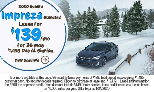 2020 Subaru Impreza Standard