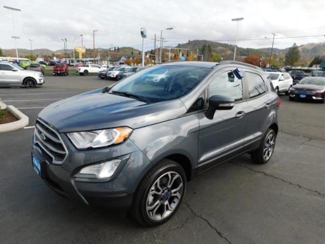 New 2018 Ford EcoSport SE SUV Roseburg, OR