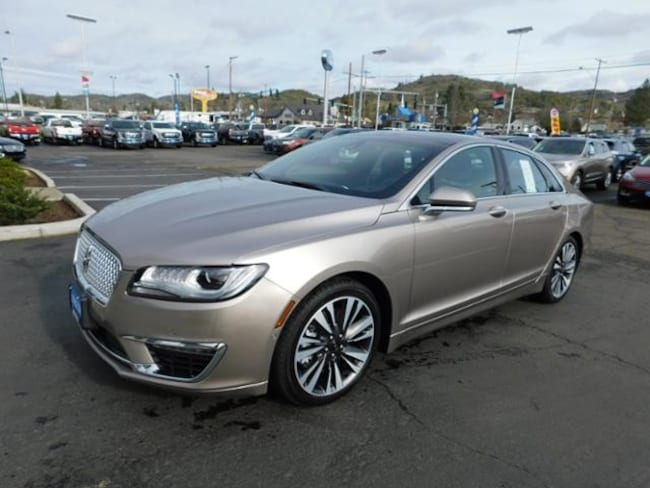 New 2018 Lincoln Mkz Sedan Iced Mocha For Sale In Roseburg Or