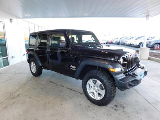 New 2018 Jeep Wrangler UNLIMITED SPORT S 4X4 Sport Utility Roseburg, OR