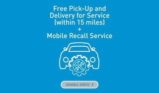 Free Pick-Up and Delivery for Service