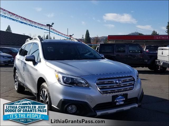 Used 2016 Subaru Outback 4dr Wgn 2.5i Limited Pzev Sport Utility Grants Pass, OR