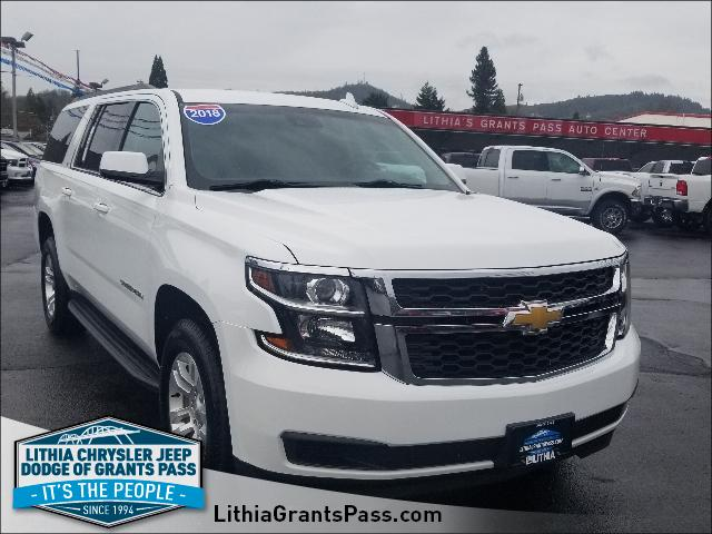 Used 2018 Chevrolet Suburban 4WD 4dr 1500 LT Sport Utility Grants Pass, OR