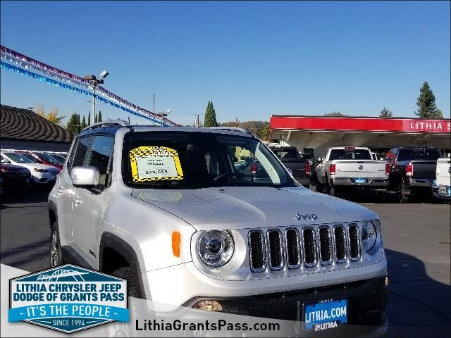 New 2018 Jeep Renegade LIMITED 4X4 Sport Utility Grants Pass, OR
