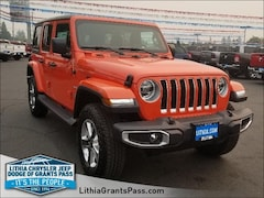 2018 Jeep Wrangler UNLIMITED SAHARA 4X4 Sport Utility Grants Pass, OR