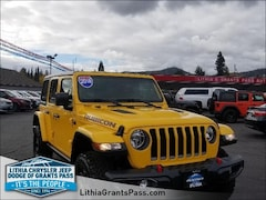 2018 Jeep Wrangler UNLIMITED RUBICON 4X4 Sport Utility Grants Pass, OR