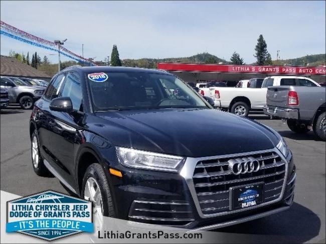 Used 2018 Audi Q5 2.0 Tfsi Premium Sport Utility Grants Pass, OR