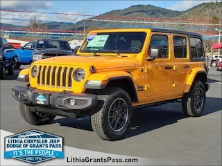 New 2021 Jeep Wrangler UNLIMITED 80TH ANNIVERSARY 4X4 Sport Utility For Sale in Grants Pass