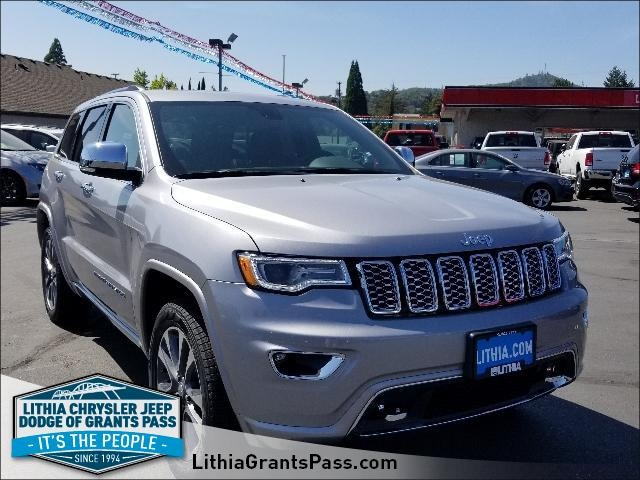 New 2018 Jeep Grand Cherokee OVERLAND 4X4 Sport Utility Grants Pass, OR