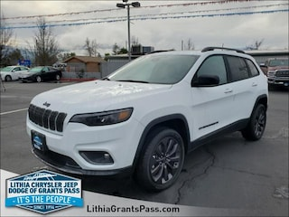 New 2021 Jeep Cherokee LATITUDE LUX 80TH ANNIVERSARY 4X4 Sport Utility For Sale in Grants Pass