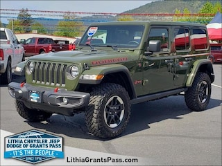 New 2021 Jeep Wrangler UNLIMITED RUBICON 4X4 Sport Utility For Sale in Grants Pass