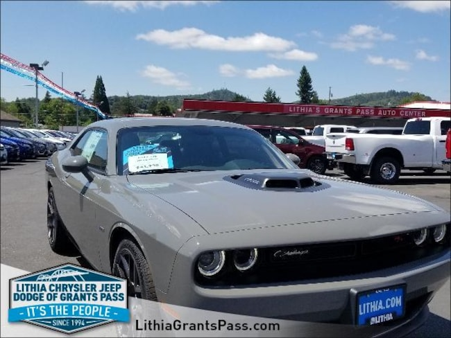 2018 Dodge Challenger R T Plus Shaker Coupe Destroyer Grey Clear