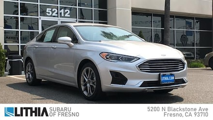 Used 2019 Ford Fusion SEL FWD Car For Sale in Fresno