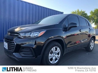 Used 2017 Chevrolet Trax FWD 4dr LS Sport Utility Fresno, CA