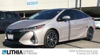 Used 2017 Toyota Prius Prime Plus Car Fresno, CA
