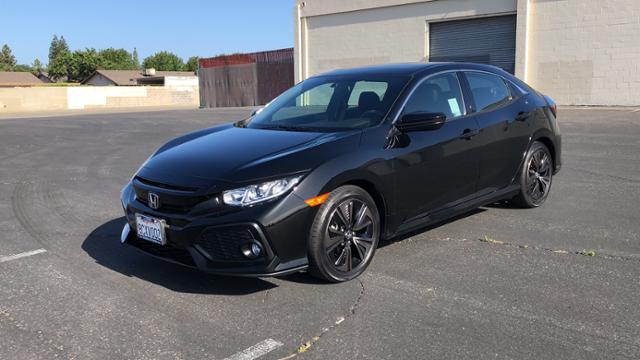 2018 Honda Civic Hatchback EX CVT Car