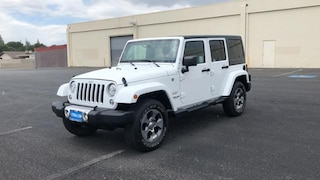 Used 2017 Jeep Wrangler Unlimited Sahara 4x4 Sport Utility Fresno, CA