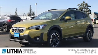 New 2021 Subaru Crosstrek Limited SUV Fresno, CA