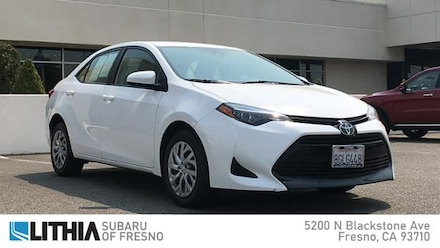 Used 2019 Toyota Corolla LE CVT Car For Sale in Fresno