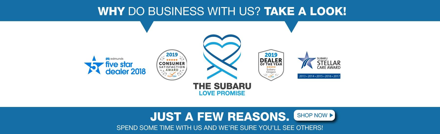 New & Used Subaru Dealership | Lithia Subaru of Oregon City Serving