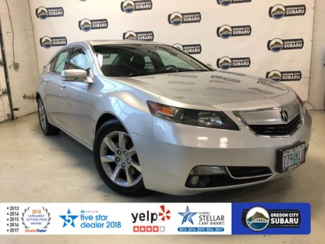 Used 2012 Acura TL 4dr Sdn Auto 2WD Tech Sedan Oregon City, OR
