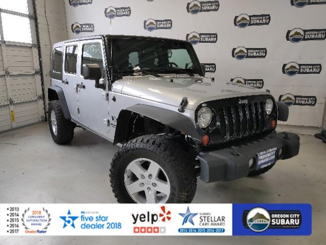Used 2008 Jeep Wrangler 4WD 4dr Unlimited X SUV Oregon City, OR