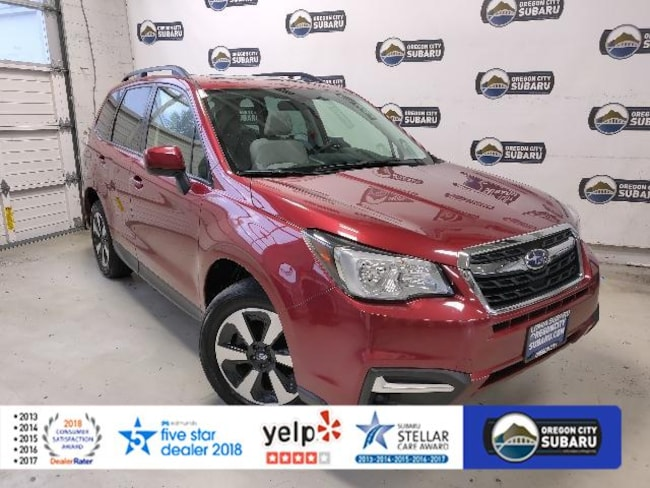 Certified Pre-Owned 2017 Subaru Forester 2.5i Premium CVT SUV Oregon City, OR