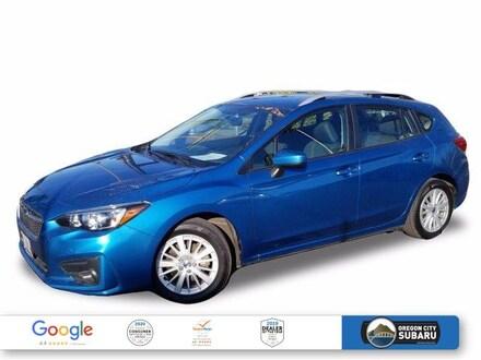 2018 Subaru Impreza 2.0i Premium 5-Door CVT 5-door