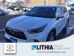 New 2021 Toyota Highlander LE SUV For Sale in Billings, MT