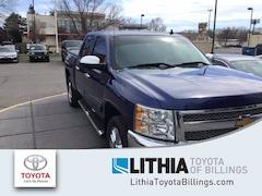 Used 2013 Chevrolet Silverado 1500 4WD Crew Cab 143.5 LT Truck Billings, MT