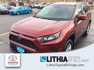 New 2021 Toyota RAV4 Hybrid LE SUV Billings, MT