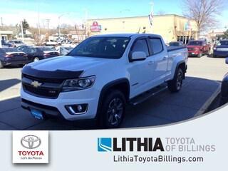 Used 2016 Chevrolet Colorado 4WD Crew Cab 140.5 Z71 Truck Billings, MT