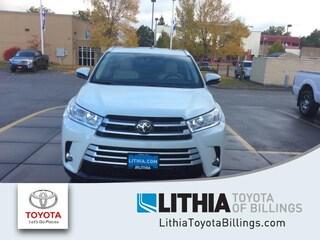 New 2019 Toyota Highlander XLE V6 SUV Billings, MT