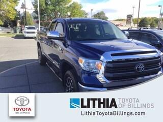 Used 2014 Toyota Tundra Double Cab 5.7L V8 6-Spd AT SR5 Truck Billings, MT