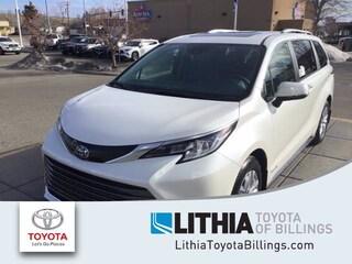 New 2021 Toyota Sienna Limited 7 Passenger Van Billings, MT