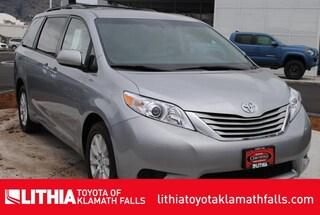 Certified Pre-Owned 2017 Toyota Sienna LE 7 Passenger Van Klamath Falls, OR
