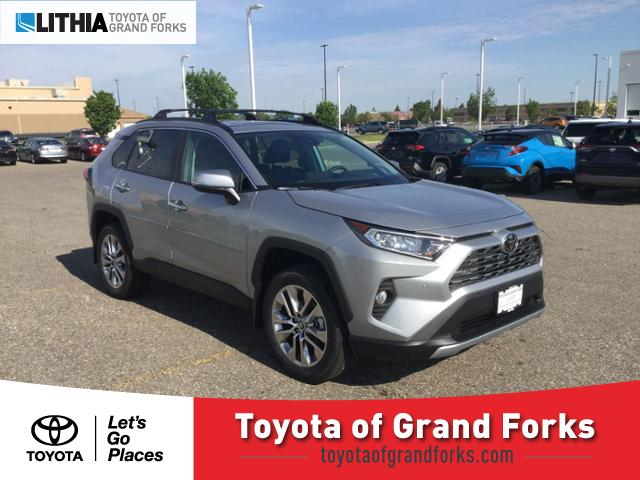 Toyota Grand Forks >> New 2019 Toyota Rav4 Suv Limited Silver Sky For Sale In