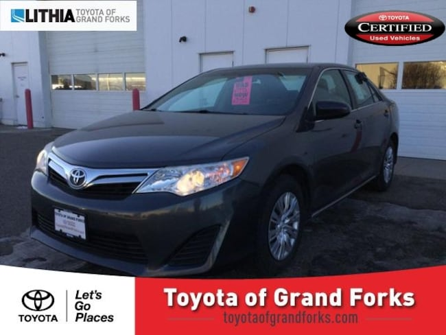 Used 2013 Toyota Camry 4dr Sdn I4 Auto LE Sedan Grand Forks, ND