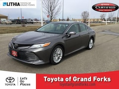 Certified Pre-Owned 2018 Toyota Camry XLE Auto Sedan Grand Forks, ND