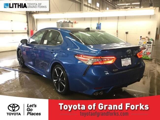 New 2019 Toyota Camry Sedan Xse V6 Blue Streak For Sale In Grand