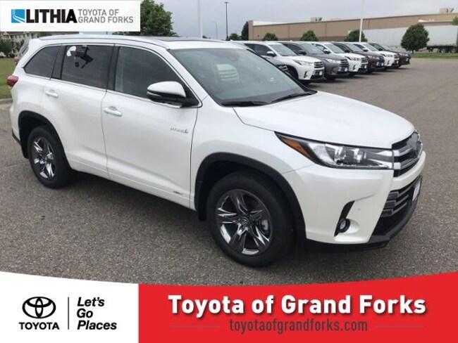 New 2019 Toyota Highlander Hybrid Limited Platinum V6 SUV Grand Forks, ND