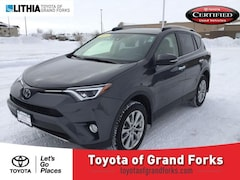 Used 2018 Toyota RAV4 Limited AWD SUV Grand Forks, ND