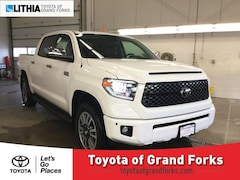 New 2019 Toyota Tundra Platinum 5.7L V8 Truck CrewMax For sale in Grand Forks ND