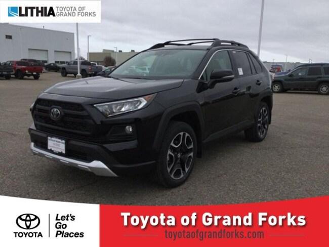 New 2019 Toyota RAV4 Adventure SUV Grand Forks, ND