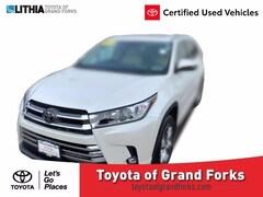 Used 2019 Toyota Highlander Limited Platinum V6 SUV Grand Forks, ND