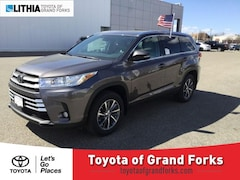 New 2019 Toyota Highlander XLE V6 SUV Grand Forks, ND