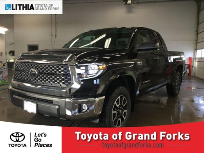 New 2019 Toyota Tundra SR5 5.7L V8 w/FFV Truck Double Cab Grand Forks, ND