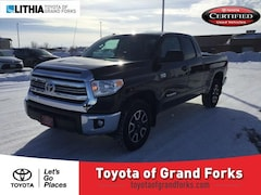Certified Pre-Owned 2017 Toyota Tundra SR5 Double Cab 6.5 Bed 5.7L FFV Truck Double Cab Grand Forks, ND